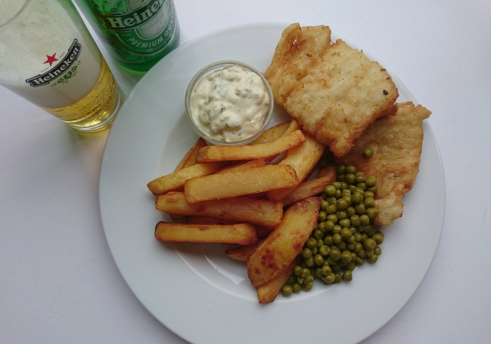Pub Food: Fish&chips